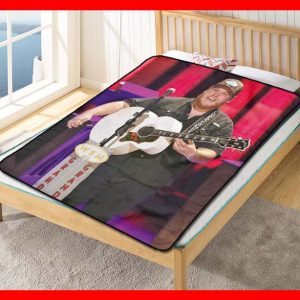 Luke Combs #2817 Blanket Quilt Bedding Bedroom Set