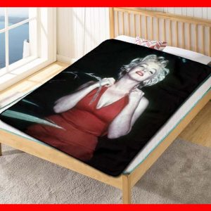 Marilyn Monroe #2366 Blanket Quilt Bedding Bedroom Set