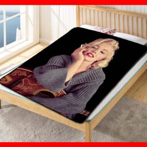 Marilyn Monroe #2369 Blanket Quilt Bedding Bedroom Set