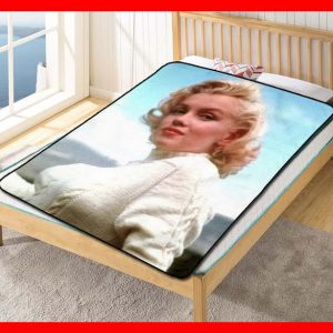 Marilyn Monroe #2370 Blanket Quilt Bedding Bedroom Set