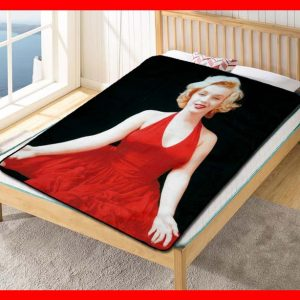 Marilyn Monroe #2371 Blanket Quilt Bedding Bedroom Set