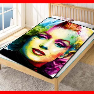 Marilyn Monroe #2362 Blanket Quilt Bedding Bedroom Set