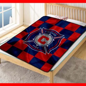Chillder Chicago Fire Blanket. Chicago Fire Fleece Blanket Throw Bed Set Quilt Bedroom Decoration.