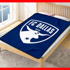 Chillder FC Dallas Blanket. FC Dallas Fleece Blanket Throw Bed Set Quilt Bedroom Decoration.