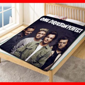 One Directions #1659 Blanket Quilt Bedding Bedroom Set