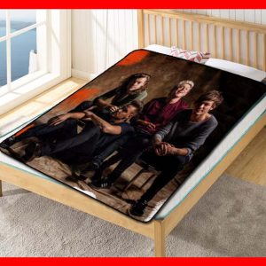 One Direction Rock Band Quilt Blanket Fleece Throw