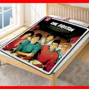 One Direction What Makes You Beautiful Quilt Blanket Throw Fleece