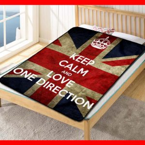 One Directions #1663 Blanket Quilt Bedding Bedroom Set