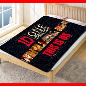 One Direction Movie This Is Us Quilt Blanket Throw Fleece