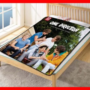 One Directions #1662 Blanket Quilt Bedding Bedroom Set