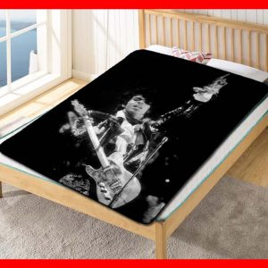 Prince On Stage Fleece Blanket Throw Quilt