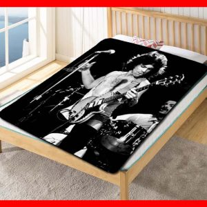 Prince On Stage Quilt Blanket Fleece Throw