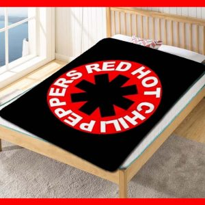 Red Hot Chili Peppers Blanket