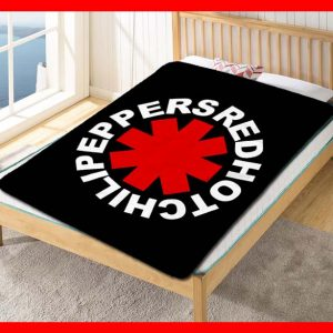 Red Hot Chili Peppers Songs Fleece Blanket Throw Quilt