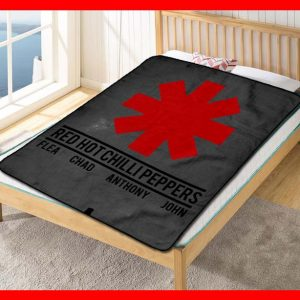 Red Hot Chili Peppers Rock Band Fleece Blanket Throw Quilt