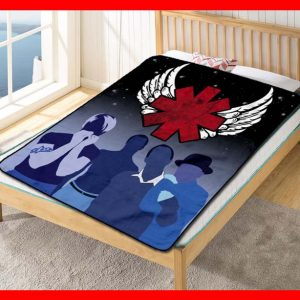 Red Hot Chili Peppers Rock Band Quilt Blanket Fleece Bed Set