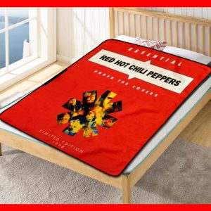 Red Hot Chili Peppers Under the Covers Quilt Blanket Fleece Throw