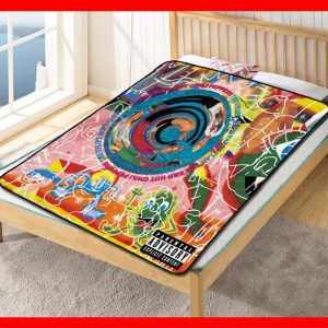 Red Hot Chili Peppers Fleece Blanket Throw Quilt