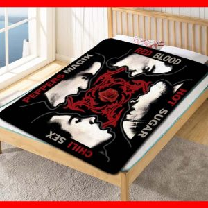 Red Hot Chili Peppers Albums Fleece Blanket Throw Quilt
