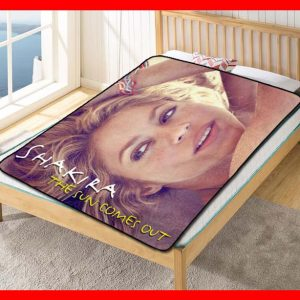 Shakira The Sun Comes Out Fleece Blanket Throw Quilt