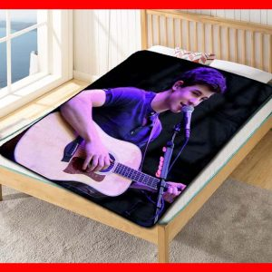 Shawn Mendes Live Stage Quilt Blanket Fleece Throw