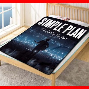 Simple Plan Perfectly Perfect Quilt Blanket Throw Fleece