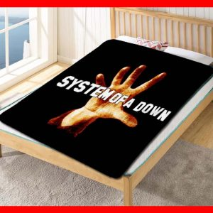 System Of A Down Darts Quilt Blanket Throw Fleece