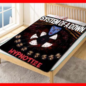 System Of A Down Rock Band Fleece Blanket Throw Quilt