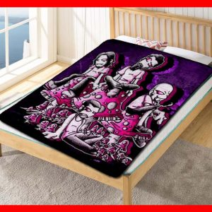 System Of A Down Rock Band Quilt Blanket Throw Fleece