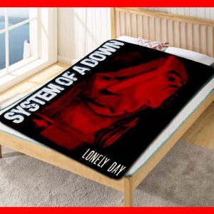 System Of A Down Fleece Blanket Throw Quilt