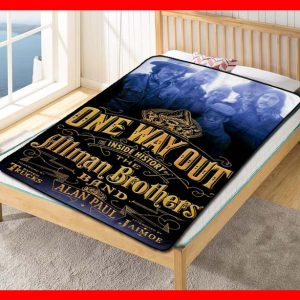 The Allman Brothers Rock Band Fleece Blanket Throw Quilt