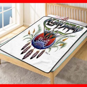 The Allman Brothers Band Where It All Begins Quilt Blanket Throw Fleece