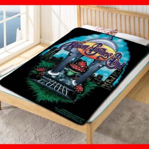 The Allman Brothers Rock Band 2000 Quilt Blanket Fleece Bed Set