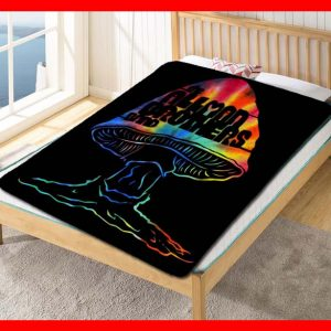 The Allman Brothers Band Fleece Blanket Throw Quilt