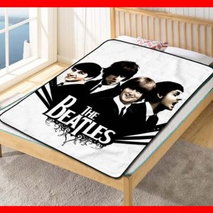 The Beatles #1790 Blanket Quilt Bedding Bedroom Set