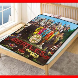 The Beatles #1791 Blanket Quilt Bedding Bedroom Set