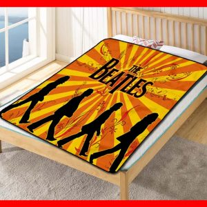 The Beatles #1792 Blanket Quilt Bedding Bedroom Set