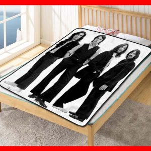 The Beatles #1787 Blanket Quilt Bedding Bedroom Set