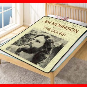 The Doors Songs Fleece Blanket Throw Quilt