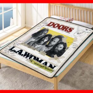 The Doors #1803 Blanket Quilt Bedding Bedroom Set