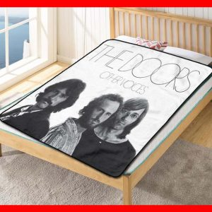 The Doors Rock Fleece Blanket Throw Quilt
