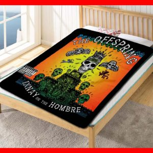 The Offspring Ixnay on the Hombre Quilt Blanket Fleece Bed Set