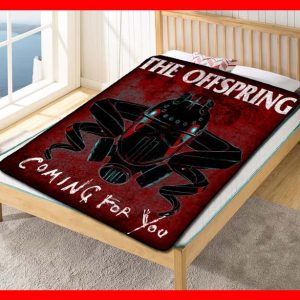 The Offspring Coming For You Quilt Blanket Fleece Throw