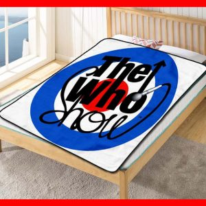The Who Show Quilt Blanket Fleece Throw