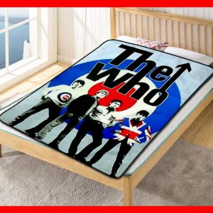 Chillder The Who Blanket. The Who Fleece Blanket Throw Bed Set Quilt Bedroom Decoration.