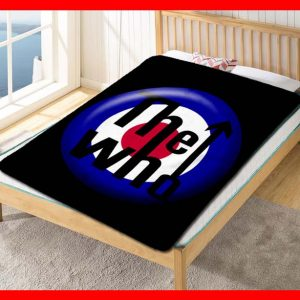 The Who Rock Band Fleece Blanket Throw Quilt