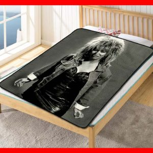Tina Turner What's Love Got To Do With It Quilt Blanket Throw Fleece