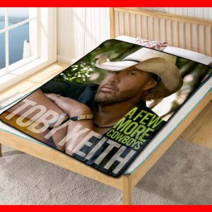 Toby Keith A few More Cowboys Quilt Blanket Fleece Throw
