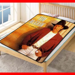 Toby Keith Blanket
