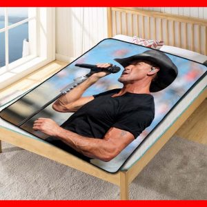 Tim McGraw Live Quilt Blanket Throw Fleece